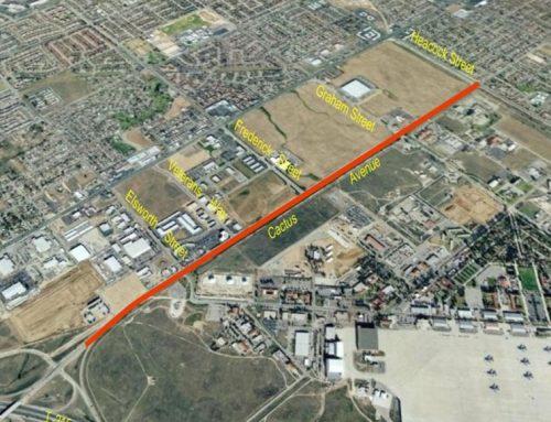 Cactus Avenue Widening